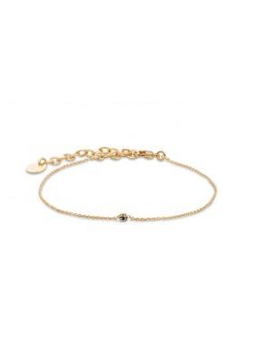 Bracelet Secret - Cristal silver night