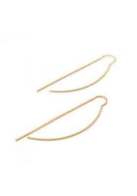 Boucles d'oreilles chaînes Désirs