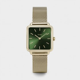 La Tétragone Gold Mesh / Forest Green