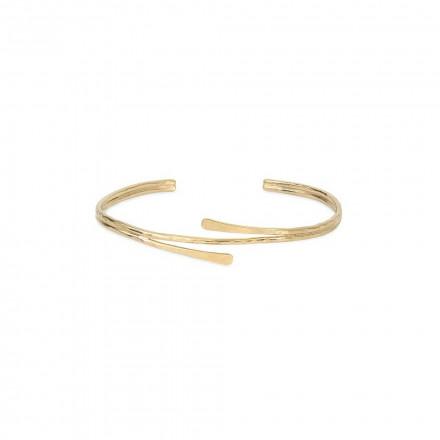 Bracelet jonc double Salomé