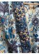 Sélection Boo - Kimono Court- Bleu Fleurs