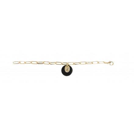 Bracelet acétate coloré trèfle