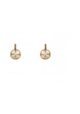 Boucles d'oreilles Timor - Nacre blanche - Turquoise