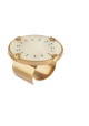 Bague Timor  XL - Nacre blanche - Turquoise