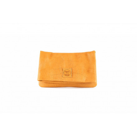 Sac Clutch Elena - Medium - Bubble Safran