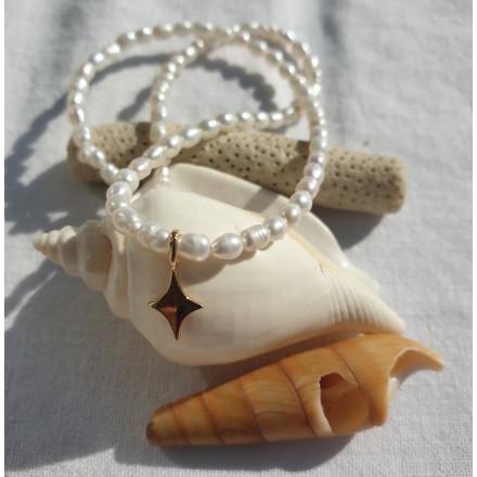 collier  Koh tao étoile du nord