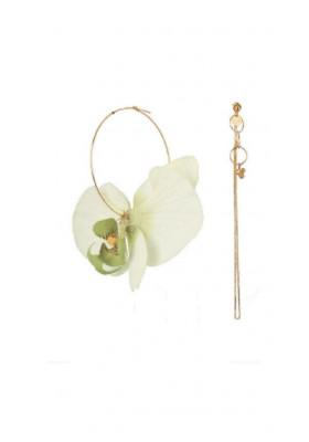 Boucles dépareillées Orchidée