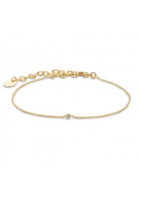 Bracelet Secret - cristal blanc