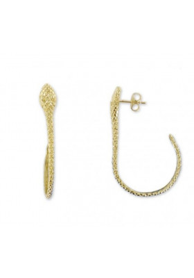 Boucles d'oreilles Serpent - Large