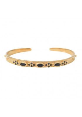 Bracelet Marquise Onyx noir