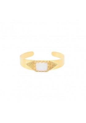 Bracelet Manchette Maelle Pierre de Lune