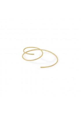 Boucle d'oreille spirale Ode - Droite