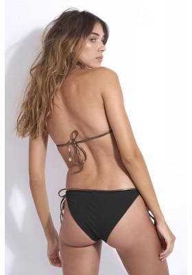 Bas de maillot de bain réversible Kate - Black Python